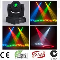 Wholesale LED W W spots Light DMX Stage Spot Moving Channels colors Mini LED Moving Head Fast Shipping