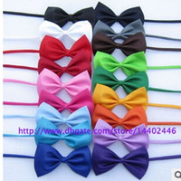 Wholesale Dog Neck Tie Dog Bow Tie Cat Tie Pet Grooming Supplies Pet Headdress Flower