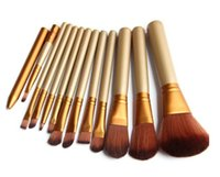 Cheap Professional 12pcs N3 Cosmetic eye Make up Brush Kit Makeup Brushes makeup Tools Set beauty brochas With Iron Box pinceaux maquillage