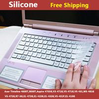 acer timeline laptop - Silicone laptop Keyboard cover skin protector for acer Timeline T T Aspire G V3 G V5 G V5 M5 G V5 G