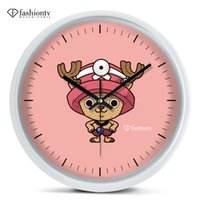 animate elk - vessel physician elk Joe pirates wall clock animated cartoon bedroom wall hanging mute electronic clock