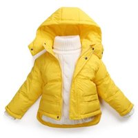 baby girl topcoat - Children s Natural white duck down warm jacket baby boys and girls Autumn and winter coat girl jacket winter topcoat