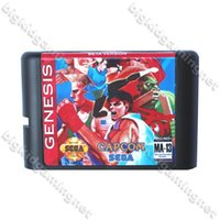 beta card - Street Fighter II Beta Version Game Cartridge bit MD Game Card For Sega Genesis