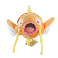 Wholesale 8 quot cm inch Anime Poke Magikarp plush toy doll high quality Animals fish soft stuffed toys children Birthday gift HX