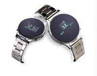 Cheap Hot sale U1 Bluetooth Smart Watch leather or steel band Luxury Stainless Steel Metal wristwatch smartwatch For Android Samsung