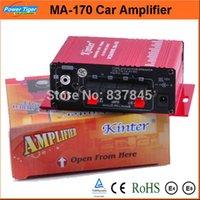 Wholesale Popular Amplifier Car Kit Speaker Car Amplifier Stereo Hi Fi Mini Digital Power Amplifier for Car MP3 DVD Input Channels