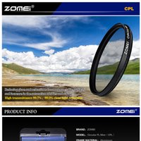 Wholesale Zomei mm CIR PL Circular Polarizing CPL FILTER for canon nikon sony lens