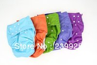 Wholesale adult cloth diapers pc pc insert plain color PUL reusable adult incontinence diaper Diapers for adults