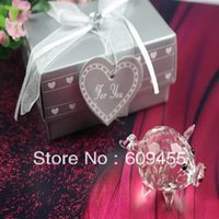Wholesale Choice Crystal Collection Lovely Pig Baby Souvenir Good for Baby Shower Favors RWF U