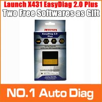 Wholesale In Stock Fast Original Launch X431 EasyDiag OBDII Code Reader Scanner Launch Easy Diag For Android IOS