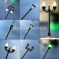 Wholesale Streetlights type Miniature Gardening Landscape DIY Plant Flower Pot Decoration New