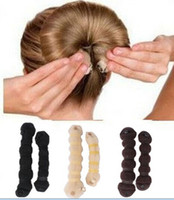 Wholesale Hot Buns Fashionable Hair Accessories Polybag packing