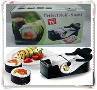 Wholesale 1pcs Roll Sushi Mold model Easy Sushi Maker Roll Ball Cutter Roller Rice Mold DIY kitchen accessories Tool