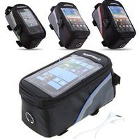 Wholesale 4 inch Cycling Bike Bicycle Frame Front Tube Bag Phone Case For Samsung Galaxy S3 S4 HTC iphone