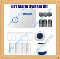 Wholesale Chuango B11 Smart Home TouchKeypad GSM Phone SMS SIM CARD PSTN Wireless Home Security Burglar Alarm System