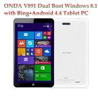 Wholesale ONDA V891 Dual Boot Windows with Bing Android Tablet PC Inch Intel Z3735F Quad Core Bit GB RAM GB ROM IPS HDMI MP