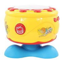 baby drummer - Polaroid B Three Character Classic rotating drum drum drummer pat baby baby music puzzle educational toys