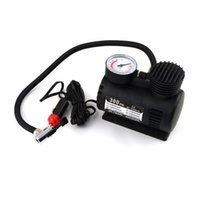 Wholesale 12V Portable Mini Air Compressor Motor Electric Multifunctional Tire Infaltor Pump For Car Motorcycle Ball
