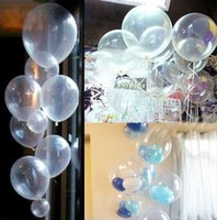 Wholesale New Quality Pearl Transparent Latex Balloons Home Bridal Birthday Party Decor quot set