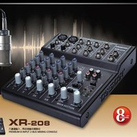 audio recording consoles - TAKSTAR XR Mixer Console Digital Mixer Premium input Bus Mixing Console use for Audio making recording studio ect