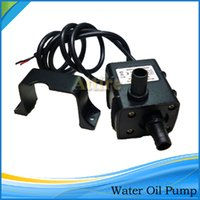 mini submersible pump - Mini DC12V Ultra quiet Micro Brushless Water Oil Pump Waterproof Submersible Fountain Aquarium Circulating L H W Lift M H12556