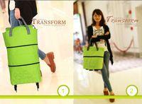 Cheap 2015 Panon Large Folding cart supermarket shopping Handbag bags square pocket Eco-friendly Reusable Foldable handle Bag