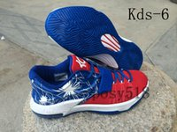 Wholesale 2014 HOT Kids Kd Basketball Shoes For Men Women Cheap KD7 VII Big Kids Mens Womens Kds Sneakers for sale size us