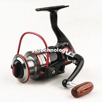 Cheap 10+1BB 1000-7000 5.1:1 Fishing Reel Left Right Collapsible Handle Spinning Reel Carp Fishing Tackle Reel Carretilha Pesca