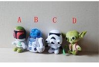 Cartoon Toy Star Wars Peluche Mignon Films Star Wars action Maître Yoda Darth Vader robot de sagesse âgées Peluches douce peluche poupée jouets