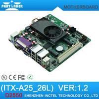 atom mini itx motherboard - Mini Itx industrial motherboard Intel ATOM D2550 with COM ATM Industrial Motherboards POS Machine industrial Mini ITX A25_26L