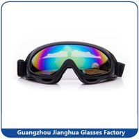 Wholesale Foam Padded Motorcycle Goggles Dust Proof Motorbike Sunglasses Windproof Motorcross Glasses