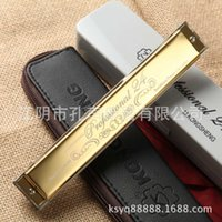 Wholesale Hole harmonica playing super sound KS24P mm copper base plate advanced phosphor bronze reed