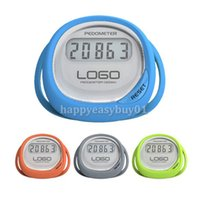 Wholesale Fitness Equipments Pedometers New Splash proof Step counter Walking pedometer with Calorie Measurements H1E1 pedometer with mp3 player