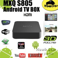 Cheap MXQ android tv box Best tronsmart stick