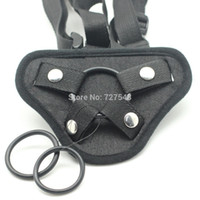 strap on dildo harness - Black velvet strap ons Accessories Strap on harness for fake Dildo penis Strap on Pants Fit for Different Size Penis sex toys