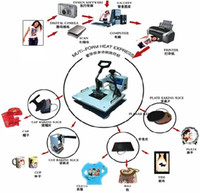 Wholesale new arrivals advanced in Image transfer machine all in one combo heat press machine digital mug press diy tshirt printer