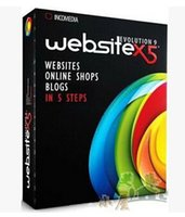 web design - Visual web design software Incomedia WebSite X5 Evolution v9