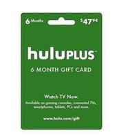 Wholesale Hulu Plus month month USA Gift Subscription Gift Card send code NO Delivery card