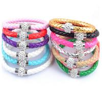 bead netting bracelet - Hot Dust Bracelet Chain Net Magnetic Bag Inside Shambhala Bracelet Charm Bracelet Bangles Fr cm cm cm