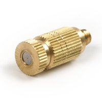 cooling fog nozzle - High Pressure mm Brass Fog Mist Nozzle Cooling Fogging Misting Spray Head