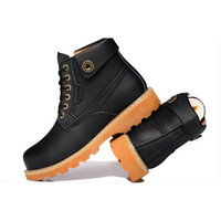 full grain leather - Guciheaven Martin boots mens England tooling boots for winter boots men wool shoes