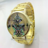 asia antiques - Stainless Classic Watch Fashion Gold Quartz Asia Chinese National Customs Special Design Mark Design Women Luxury Wrist Watch