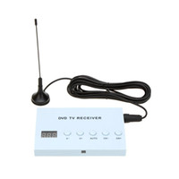 Wholesale GPS Mini Design Digital Car TV Tuner Receiver DVD Monitor Analog Box TV Tuner Strong Signal Box with Antenna AV audio video output