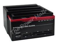 Wholesale Newest Multi Function USB HUB SATA IDE HDD Dock Docking Station Clone B12