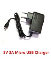 Wholesale AC To DC V A Micro USB Port Charger Power Adapter for Quad Core Tablet PC Onda V972 V973 Cube U55GT Vido M1 Mini pad Power Supply