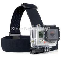 Wholesale In Stock ST Elastic Adjustable Head Strap Mount Belt for GoPro HD Hero Camera