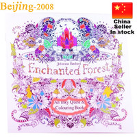 Wholesale Coloring Painting Books Designs Pages Secret Garden Animal Kingdom Fantasy Dream and Enchanted Forest For Kids Adult