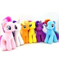 Wholesale 19cm My Little Pony Plush Cartoon Super Quality plush Dolls Stuffed Toys Plush Animals