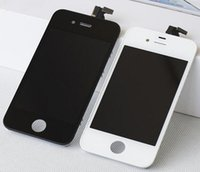 Wholesale LCD screen For iPhone S G with Touch display digitizer Frame assembly replacement with Anti Dust Mesh