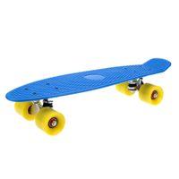 aluminum skateboard trucks - Brand New Color quot Lightweight Complete Plastic Skateboard kg Max Load Non slip Aluminum Alloy Trucks PU wheels